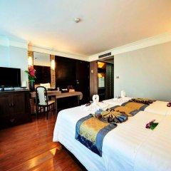 Jomtien Garden Hotel & Resort 4* Номер Делюкс с различными типами кроватей фото 43