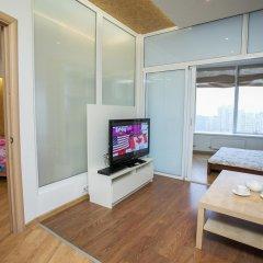 Апартаменты Мост Центр Апартаменты Апартаменты Премиум с различными типами кроватей фото 12