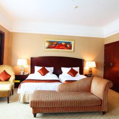 Guangzhou Grand International Hotel 4* Представительский номер с 2 отдельными кроватями