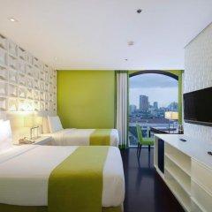 Отель The Bayleaf Intramuros 3* Номер Делюкс с различными типами кроватей фото 2