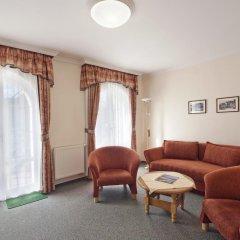 Отель Pension Villa Rosa 3* Люкс с различными типами кроватей фото 9