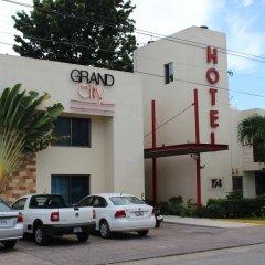 Отель Grand City Hotel Cancun Мексика, Канкун - отзывы, цены и фото номеров - забронировать отель Grand City Hotel Cancun онлайн вид на фасад фото 2