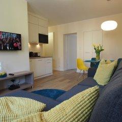 Отель Grand -Tourist Marine Apartments Польша, Гданьск - отзывы, цены и фото номеров - забронировать отель Grand -Tourist Marine Apartments онлайн комната для гостей фото 2
