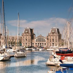 Отель Ostend Hotel Бельгия, Остенде - отзывы, цены и фото номеров - забронировать отель Ostend Hotel онлайн приотельная территория фото 2