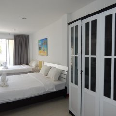 Отель Jinta Andaman 3* Семейный номер Делюкс с двуспальной кроватью фото 5