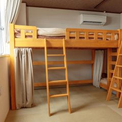 Fukuoka Hana Hostel Кровать в мужском общем номере фото 5