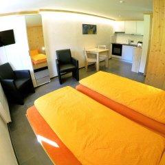 Отель Chalet Weidhaus Ferienwohnung & Zimmer Студия с различными типами кроватей фото 3