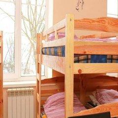 Хостел Х.О. Кровать в общем номере с двухъярусной кроватью