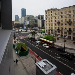 Отель Apartament Świętokrzyska Студия с различными типами кроватей фото 2