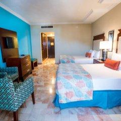 Отель Omni Cancun Hotel & Villas - Все включено Мексика, Канкун - 1 отзыв об отеле, цены и фото номеров - забронировать отель Omni Cancun Hotel & Villas - Все включено онлайн комната для гостей фото 4