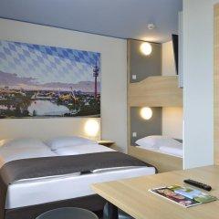 B&B Hotel München City-Nord 2* Стандартный семейный номер с двуспальной кроватью фото 4