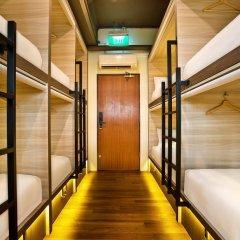 Capsule Pod Boutique Hostel Кровать в общем номере фото 4