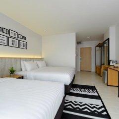 Отель Ruenthip Residence Pattaya 4* Улучшенный номер с различными типами кроватей фото 2