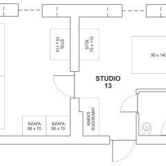 Отель Noctis Zakopane Студия с различными типами кроватей фото 9