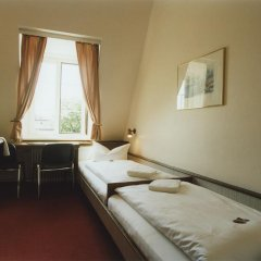 Hotel Jedermann 2* Стандартный номер с двуспальной кроватью (общая ванная комната) фото 2