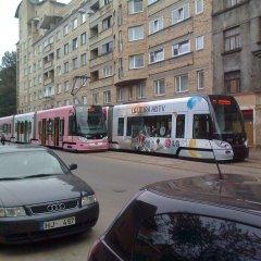 Апартаменты Budget Apartments городской автобус