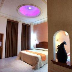 Отель Santiago De Compostela Hotel Мексика, Гвадалахара - отзывы, цены и фото номеров - забронировать отель Santiago De Compostela Hotel онлайн комната для гостей фото 5