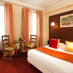 Отель Hôtel Londres Saint Honoré 2* Стандартный номер с двуспальной кроватью фото 2