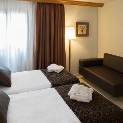 Отель Catalonia Barcelona Golf 3* Улучшенный номер с различными типами кроватей фото 3