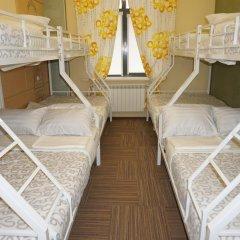 Hostel Berloga Кровать в общем номере с двухъярусной кроватью фото 4