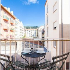 Отель Appartement le Fighiéra балкон