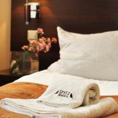 Отель Spatz Aparthotel 3* Стандартный номер с различными типами кроватей фото 14