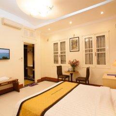 Hanoi Old Quarter Hotel 3* Номер Делюкс разные типы кроватей фото 5