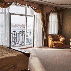 Гостиница Золотое Кольцо Кострома Люкс с двуспальной кроватью фото 9
