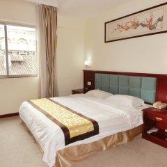 Отель Guangdong Oversea Chinese Hotel Китай, Гуанчжоу - отзывы, цены и фото номеров - забронировать отель Guangdong Oversea Chinese Hotel онлайн комната для гостей фото 2
