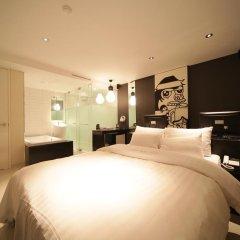 Отель Pop Jongno Южная Корея, Сеул - отзывы, цены и фото номеров - забронировать отель Pop Jongno онлайн комната для гостей фото 5