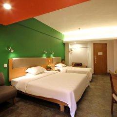 Отель 4th Zhongshan Road Garden Inn 3* Стандартный номер с 2 отдельными кроватями фото 2