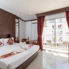 Отель Patong Buri 3* Стандартный номер с двуспальной кроватью фото 4