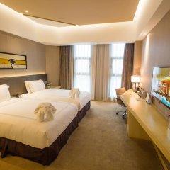 Skytel Hotel Chengdu 4* Улучшенный номер с различными типами кроватей фото 5