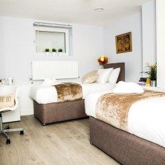 Отель Flat 2, Falcondale House 5 South Cliff Великобритания, Истборн - отзывы, цены и фото номеров - забронировать отель Flat 2, Falcondale House 5 South Cliff онлайн комната для гостей фото 4