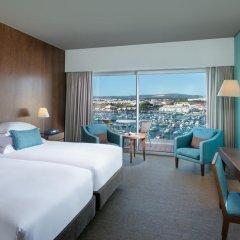 Отель Tivoli Marina Vilamoura 5* Номер Делюкс с 2 отдельными кроватями фото 7
