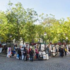 Отель Timhotel Montmartre Париж детские мероприятия