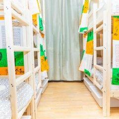Гостиница Hostels Rus Golovinskiy Кровать в общем номере с двухъярусной кроватью фото 5