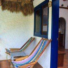Отель Las Nubes de Holbox 3* Бунгало с различными типами кроватей фото 7