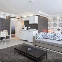 Отель Defne Suites Апартаменты с различными типами кроватей фото 33