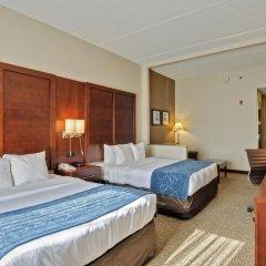 Отель Comfort Suites Manassas Battlefield Park 2* Люкс с различными типами кроватей фото 2