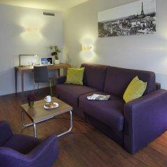 Отель Citadines Les Halles Paris Апартаменты с различными типами кроватей фото 5