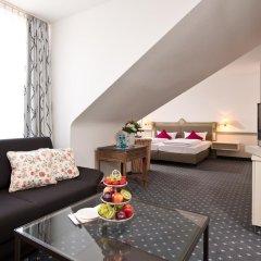 Отель ACHAT Premium Walldorf/Reilingen 4* Улучшенный номер с различными типами кроватей фото 3