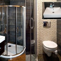 Отель Łódź 55 ванная