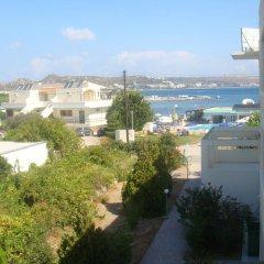 Отель Elpida Beach Studios балкон