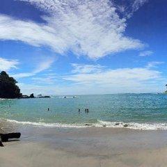 Отель Gaia Hotel And Reserve - Adults Only Коста-Рика, Кепос - отзывы, цены и фото номеров - забронировать отель Gaia Hotel And Reserve - Adults Only онлайн пляж