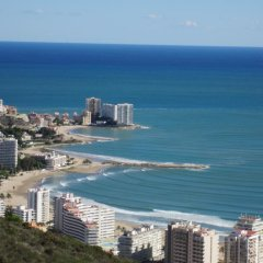 Hotel L'Escala пляж