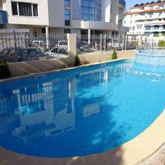 Отель Sunny Flower Hotel Болгария, Солнечный берег - отзывы, цены и фото номеров - забронировать отель Sunny Flower Hotel онлайн бассейн