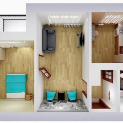 Апартаменты Альфа Апартаменты На Чехова Апартаменты с разными типами кроватей