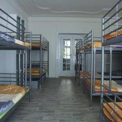 Hostel Fontána Кровать в общем номере