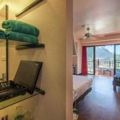 Отель Krabi Cha-da Resort 4* Номер Делюкс с различными типами кроватей фото 19